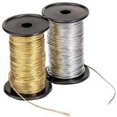 Cordão metalizado diametro 0,9mm rolo c/ 50 mts