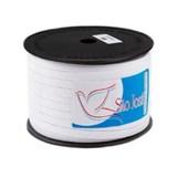 Elastico algodão n.12  (7,0 mm)  rolo c/ 100 mts