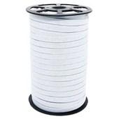 Elastico poliester jaragua branco n.10 largura: 9 mm  pç c/ 100 mts