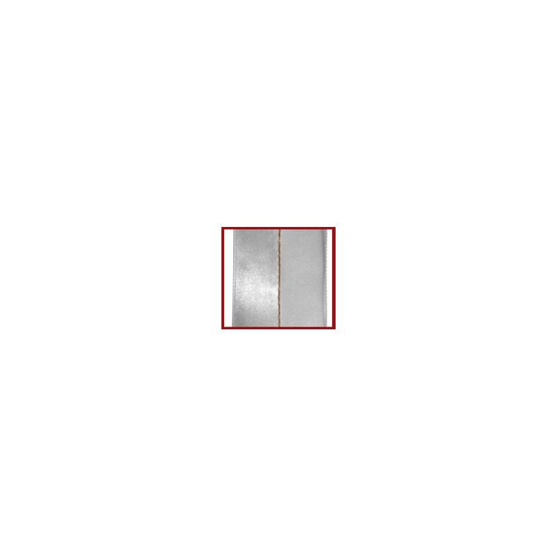 Fita voil/cetim/metalica helo com 9,5mm c/ 10mts
