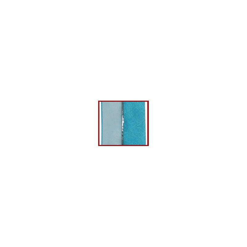 Fita voil/cetim/metalica helo com 9,5mm c/ 9,14mts