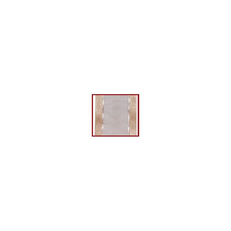 Fita voil/cetim/metalica helo cvm 22mm c/ 10mts